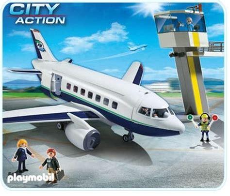Playmobil 5261 Avion De Pasajeros Y Mercancia Maltrada ...