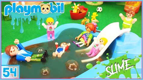 Playmobil 54 - Diversión en la piscina llena de SLIME ...