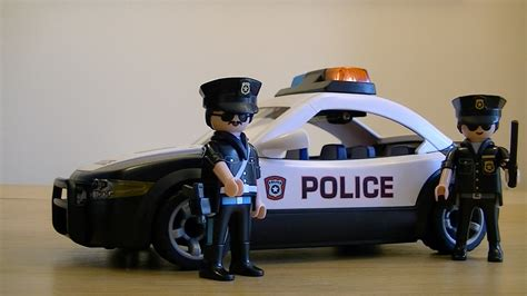 Playmobil 5614 City Action Police Car Unboxing, Assembly ...