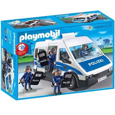 Playmobil 9397 Policia federal furgon con agentes