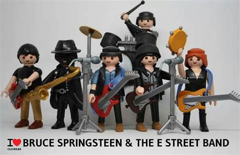 Playmobil Bruce Springsteen and the E Street Band | BRUCE ...
