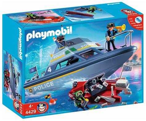 PLAYMOBIL City Action 4429 pas cher   Vedette de police et ...