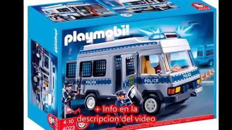 Playmobil City Action Furgón de policía 626563   YouTube
