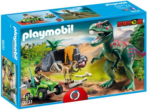 PLAYMOBIL Dinos 9231 pas cher   Explorateur avec dinosaures