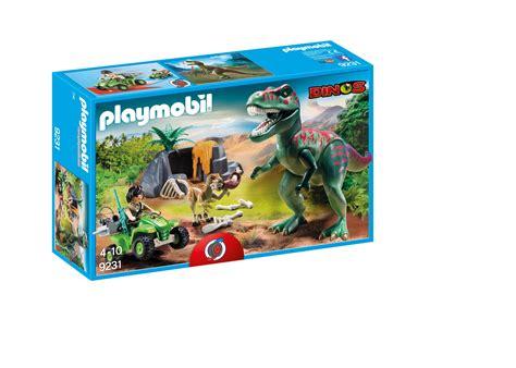 Playmobil Dinos 9231, Upptäckarfyrhjuling med T Rex ...