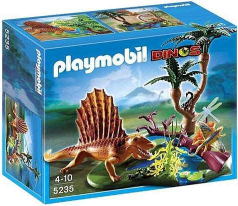 Playmobil Dinos Dimetrodon Set 5235   ToyWiz