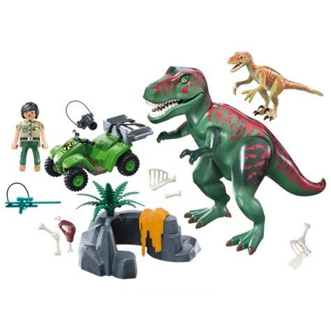 Playmobil Dinos Rex com Explorador e Quadriciclo   Sunny ...