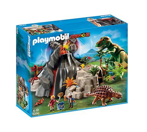 Playmobil Dinos T Rex Saichania przy wulkanie 5230