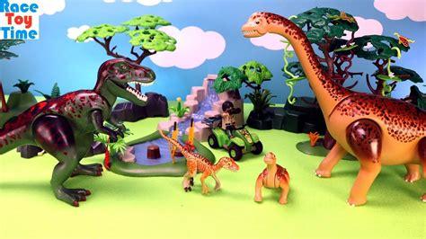 Playmobil Dinos Tyrannosaurus with Explorer and ...