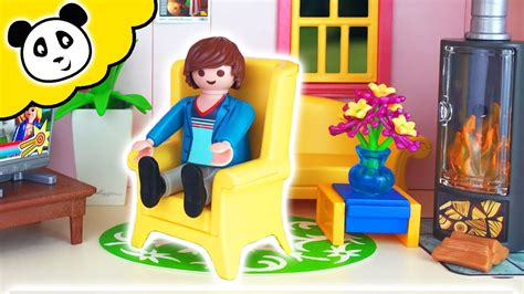 Playmobil en español - Casa de muñecas. Sala de estar ...