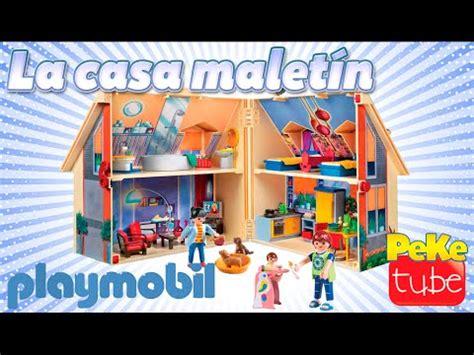 Playmobil en Español - Jugando con la casa maletín ...