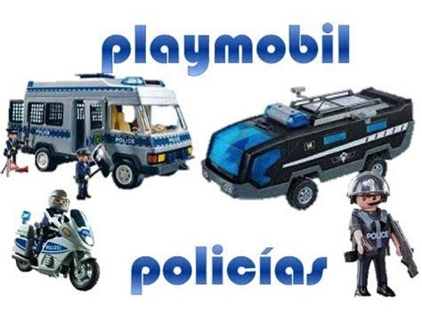 playmobil en español- Policías colección - YouTube