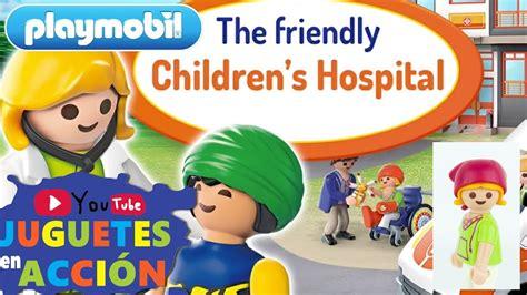 PLAYMOBIL EN ESPAÑOL ???? Playmobil Hospital Infantil ...