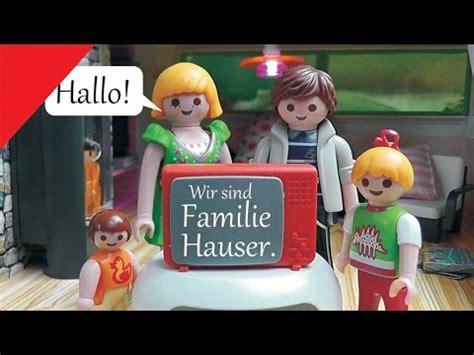 Playmobil Family Stories / Familie Hauser   Kanaltrailer ...