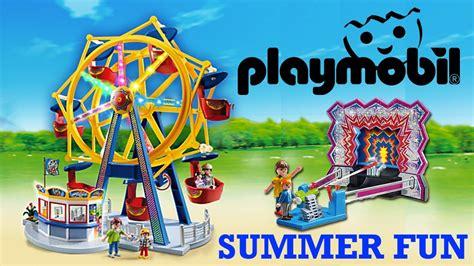 Playmobil FERRIS WHEEL Toy Summer Fun Amusement Park + TIN ...
