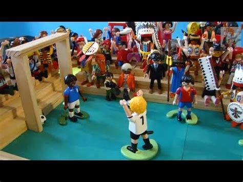 PLAYMOBIL FOOTBALL Fußball SOCCER Fútbol Futebol   YouTube