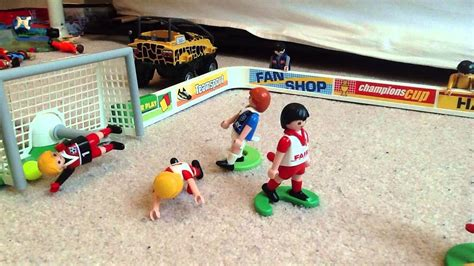 Playmobil Football Match   YouTube