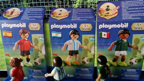 Playmobil Futbol Mundial 2018 ⚽  Futbolista Playmobil ...