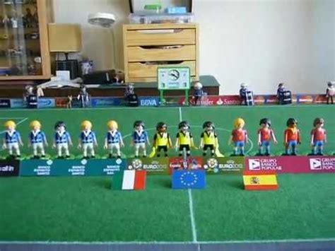 Playmobil Fútbol Selección española de fútbol   YouTube