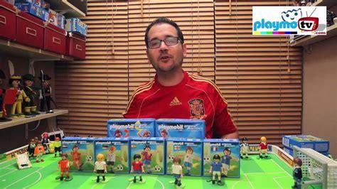 Playmobil futbolistas Eurocopa 2012   YouTube