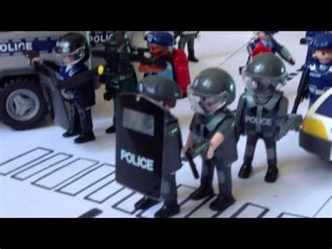 PLAYMOBIL INTERVENTION POLICE !!   YouTube