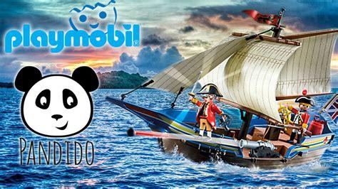 PLAYMOBIL Piratas en español - Barco de los soldados (5140 ...