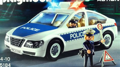 Playmobil Police car Polizei  5184  unboxing City Action ...
