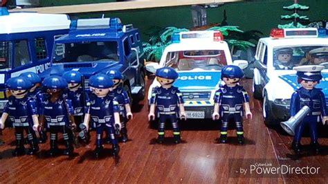 Playmobil policía. Coche patrulla y furgón de policía ...