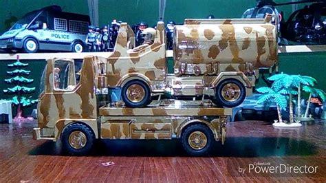 Playmobil Policía  Ejército. Vehículos customizados.   YouTube