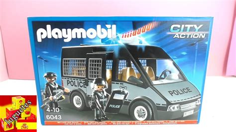 Playmobil Policía en español   Policía Playmobil   YouTube