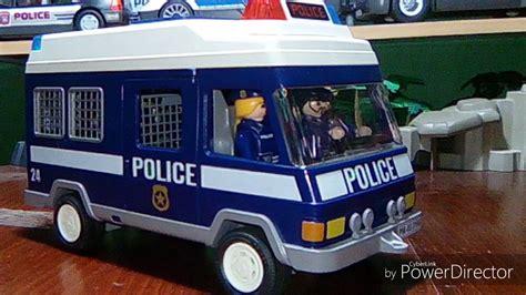 Playmobil policia. Furgón de policía.   YouTube