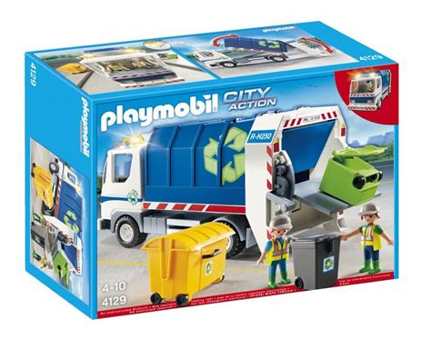 Playmobil Recycling Truck 4129 | Table Mountain Toys