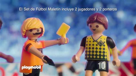 PLAYMOBIL – Fútbol  español    YouTube