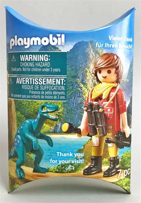 Playmobil Set: 2018-02NUR - Explorer with dinosaur ...