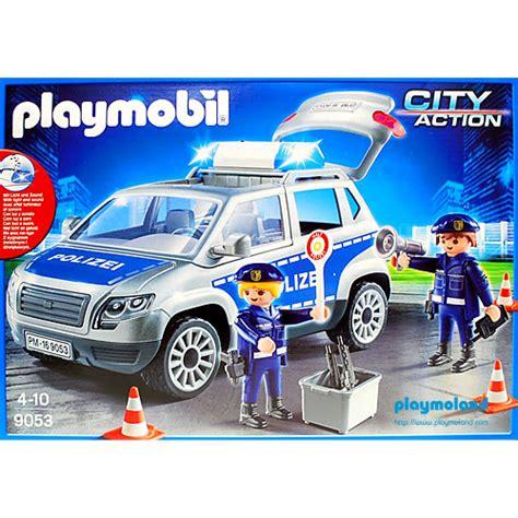 Playmobil Set: 9053   Police Car   Klickypedia