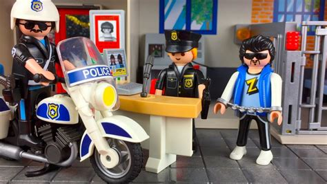 Playmobil Toy Police Station   YouTube