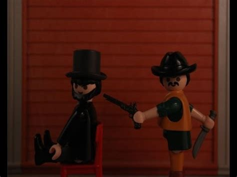 PLAYMOBIL WESTERN:AFTER LINCOLN stop motion   YouTube