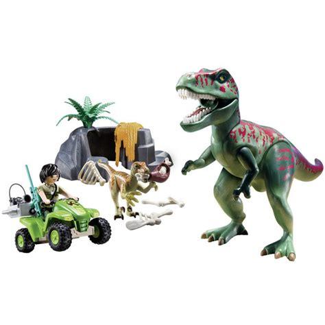 Playset T REX Tirannosaurus with QUAD etc. Playmobil DINOS ...