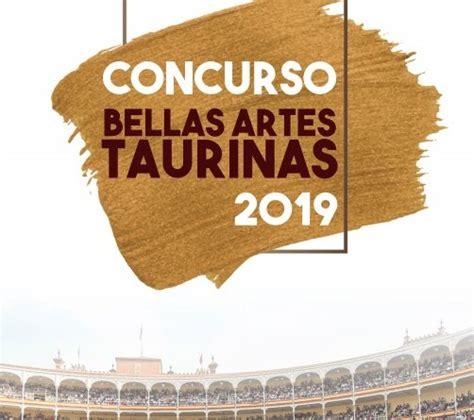Plaza 1 convoca el Concurso de Bellas Artes Taurinas 2019 ...
