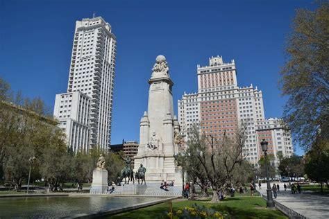 Plaza de España en Madrid   Mirador Madrid