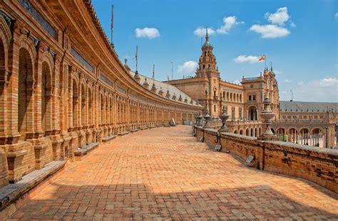Plaza de España Full HD Wallpaper and Background Image ...
