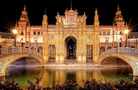 Plaza De España,Sevilla Full HD Fondo de Pantalla and ...