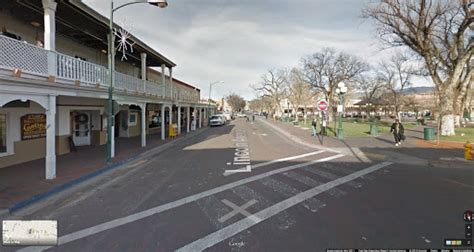 Plaza mayor de Santa Fe (New Mexico) en Google Street View ...