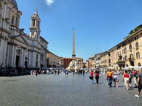 Plaza Navona de Roma y sus tres fuentes   Ser Turista