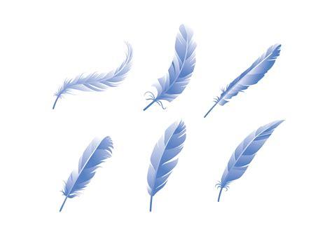 Pluma azul vector libre   Descargue Gráficos y Vectores Gratis
