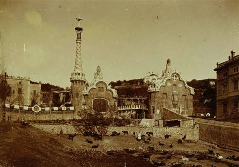 Plus de cent ans d'histoire   Park Güell Barcelona