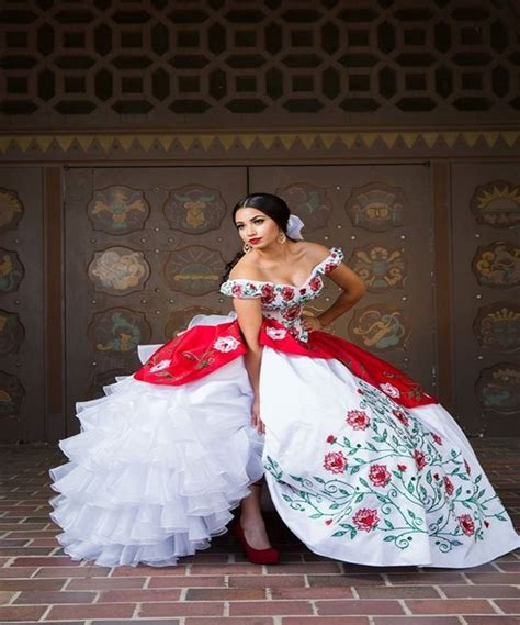 Plus Szie 2017 Red Embroidery Quinceanera Dresses Ball ...