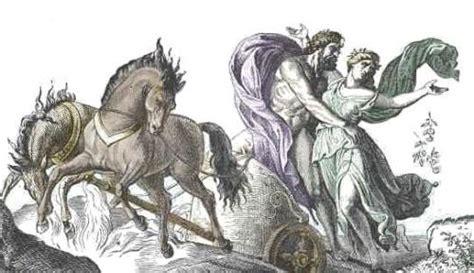 Plutón en la mitología romana, dios del inframundo