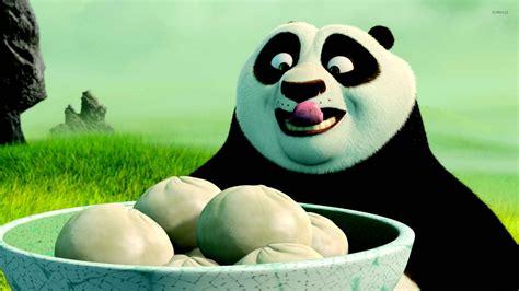 Po having dumplings - Kung Fu Panda wallpaper - Cartoon ...