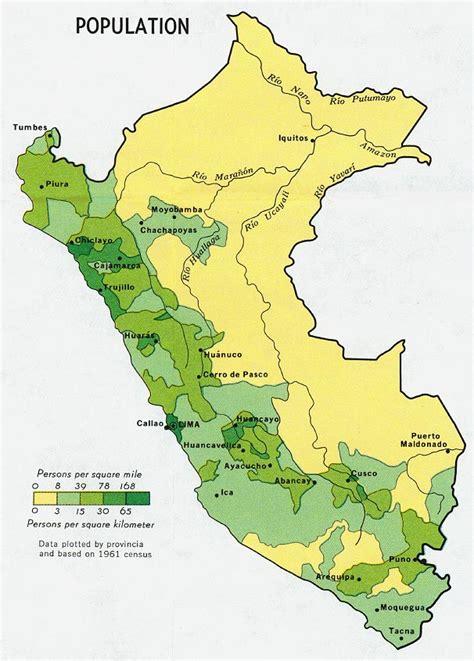 Población de Perú 1970 - Tamaño completo